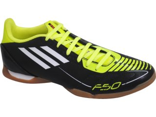 Tênis Masculino Adidas 5 in U44271 Preto/verde - Tamanho Médio