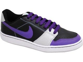 Tênis Feminino Nike Backboard 432507-002 Preto/roxo - Tamanho Médio