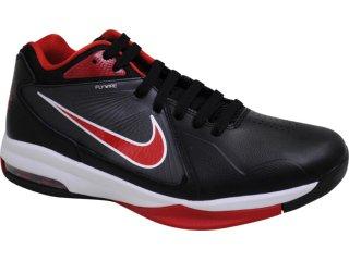 Tênis Masculino Nike Max Flight 441948-007 Preto/vermelho - Tamanho Médio
