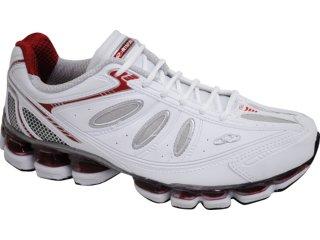 Tênis Masculino Olympikus Symbol 705 Branco/vermelho - Tamanho Médio