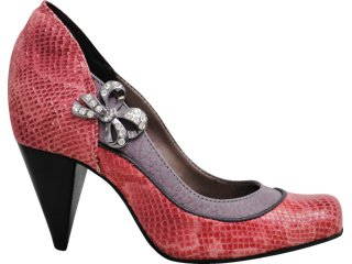 Sapato Feminino Tanara 2094 Vermelho - Tamanho Médio
