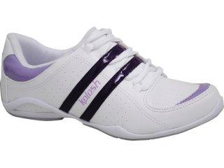 Tênis Feminino Kolosh 8443 Branco/violeta - Tamanho Médio