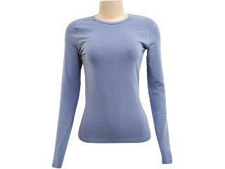 Blusa Feminina Hering 02qy As307s Azul Petróleo - Tamanho Médio