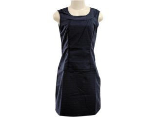 Vestido Feminino Hering H66l Jpse01 Preto - Tamanho Médio