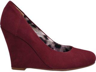 Sapato Feminino Via Marte 11-3708 Bordo - Tamanho Médio