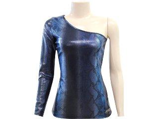 Blusa Feminina Coca-cola Clothing 363202015 Azul - Tamanho Médio