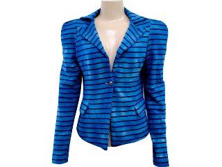 Blazer Feminino Coca-cola Clothing Coca-cola 583200003 Azul Escuro - Tamanho Médio