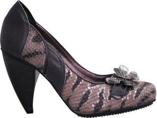 Sapato Feminino Tanara 2252 Grafite - Tamanho Médio