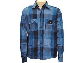 Camisa Masculina dj 01011099 Azul - Tamanho Médio