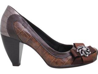 Sapato Feminino Dakota 3102 Café - Tamanho Médio