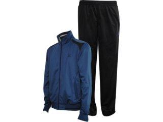 Abrigo Masculino Mizuno 4117015 Azul/preto - Tamanho Médio