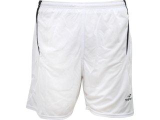 Calçao Masculino Topper 4115096 Branco - Tamanho Médio
