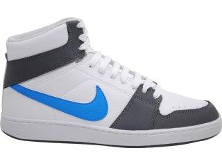 Tênis Masculino Nike Backboard 432515-102 Bco/cinza/azul - Tamanho Médio