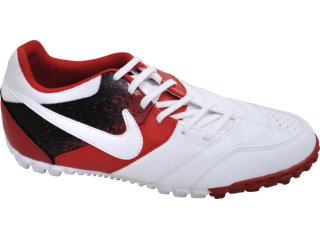 Tênis Masculino Nike Bomba 415130-116 Branco/vermelho - Tamanho Médio