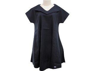 Vestido Feminino Hering Kk55 N10si Preto - Tamanho Médio