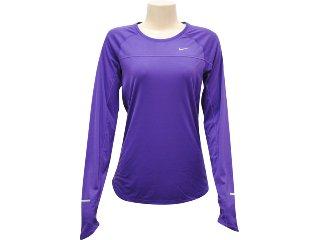 Camiseta Feminina Nike 405255-543 Roxo - Tamanho Médio