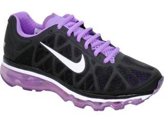 Tênis Feminino Nike Air Max 2011 429890-005 Preto/lilas - Tamanho Médio