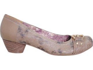 Sapato Feminino Via Marte 11-8201 Capuccino - Tamanho Médio