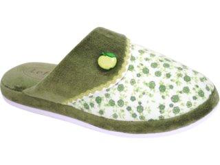 Chinelo Feminino Leffa 585 Verde - Tamanho Médio