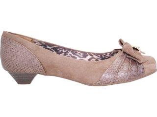 Sapato Feminino Via Marte 11-7105 Havana - Tamanho Médio