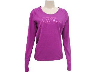 Blusa Feminina Nike 266524 Violeta - Tamanho Médio
