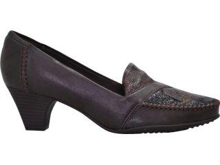 Sapato Feminino Piccadilly 149.004 Marrom - Tamanho Médio