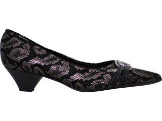 Sapato Feminino Piccadilly 190.018 Preto - Tamanho Médio