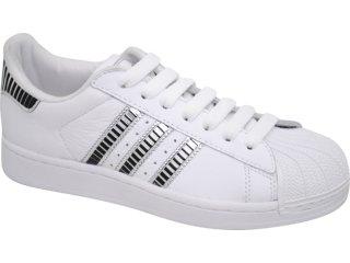 Tênis Feminino Adidas Star G44085 Branco/pto/pta - Tamanho Médio
