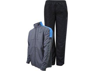 Abrigo Masculino Topper 4120618 Preto/azul - Tamanho Médio