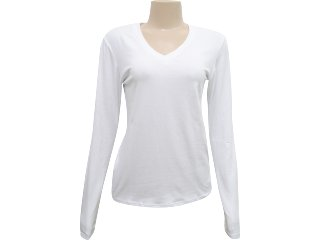 Blusa Feminina Mineral 92241 Branco - Tamanho Médio