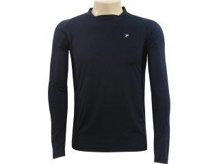 Camisa Masculina Poker 04384 Preto - Tamanho Médio