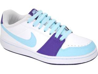 Tênis Feminino Nike Backboard 432507-103 Branco/roxo - Tamanho Médio