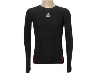 Camiseta Masculina Adidas P00510 Preto - Tamanho Médio