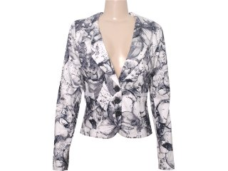 Blazer Feminino Cavalera Clothing 06.05.0306 Estampada - Tamanho Médio