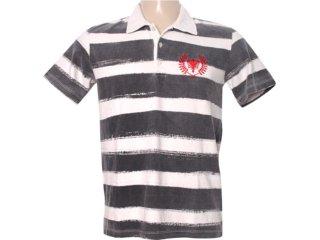 Camisa Masculina Cavalera Clothing 03.01.0737 Off White - Tamanho Médio