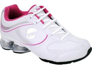 Tênis Feminino Lynd 141 Bco/pta/pink - Tamanho Médio