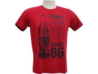 Camiseta Masculina Coca-cola Shoes 353202423 Vermelho - Tamanho Médio