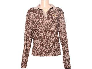 Camisa Feminina Criativa 93222 Tigresa - Tamanho Médio