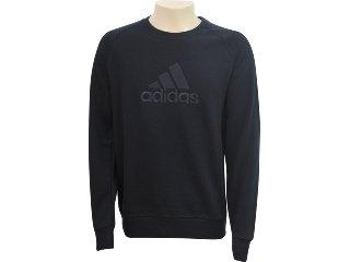 Blusão Masculino Adidas E15122 Preto - Tamanho Médio