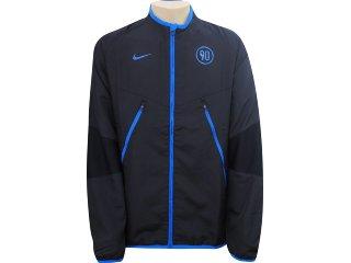 Casaco Masculino Nike 326620-010 Preto/azul - Tamanho Médio