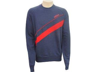 Blusão Masculino Adidas 509093 Cinza/vermelho - Tamanho Médio