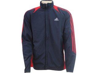 Jaqueta Masculina Adidas E89596 Chumbo/vermelho - Tamanho Médio