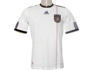 Camiseta Masculina Adidas P41477 Alemanha Branco - Tamanho Médio