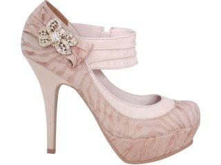Sapato Feminino Tanara 2452 Avelã - Tamanho Médio