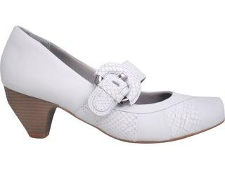 Sapato Feminino Campesi 1691 Branco - Tamanho Médio