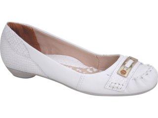 Sapato Feminino Campesi 1782 Branco - Tamanho Médio
