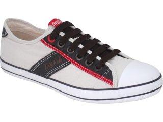 Tênis Masculino Coca-cola Shoes C0101701 Areia - Tamanho Médio