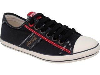 Tênis Masculino Coca-cola Shoes C0101701 Preto - Tamanho Médio