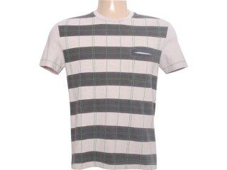 Camiseta Masculina Dopping 015261014 Gelo - Tamanho Médio