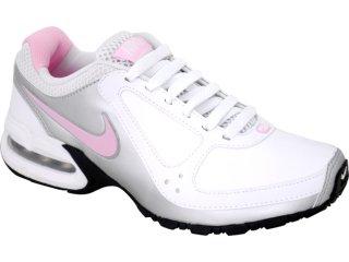 Tênis Feminino Nike 445758-101 Air Max Branco/pta/rosa - Tamanho Médio